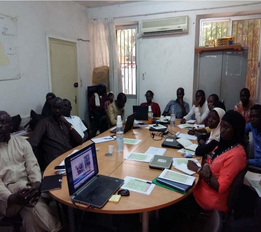 Session de formation des Cadres de DGPRE  à Dakar