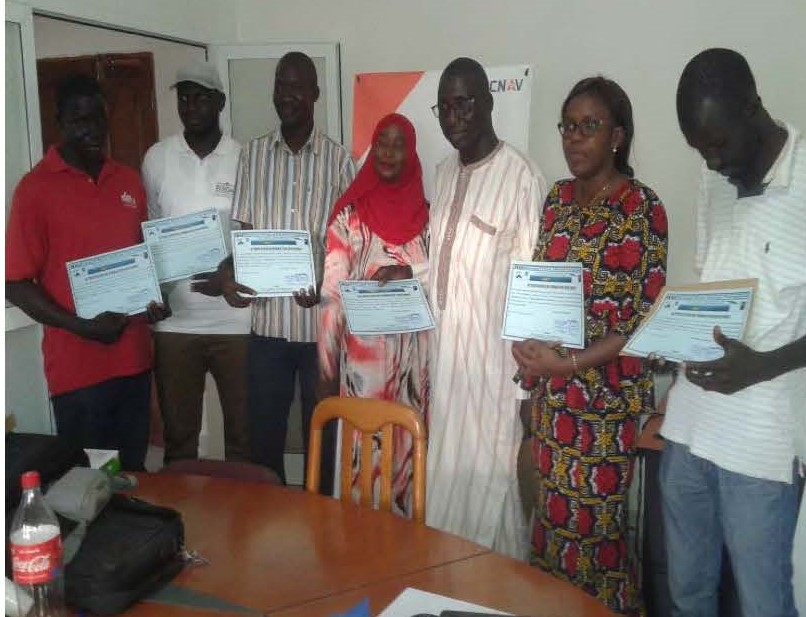 Formation des Cadres d'EIFFAGE Sénégal